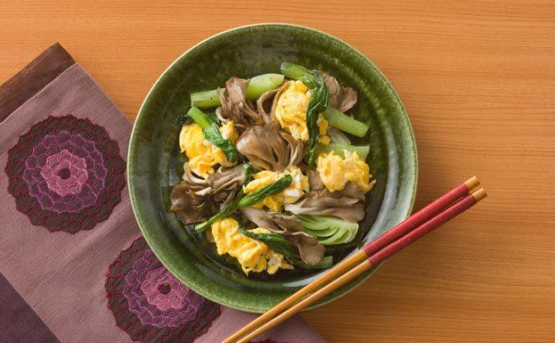きのこ チンゲン 菜 チンゲン菜と卵で作る絶品レシピまとめ!中華から和風までバリエーション豊か!